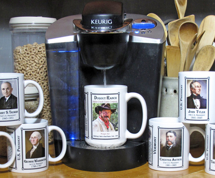 History Mugs are the perfect way to enjoy your coffee or tea.