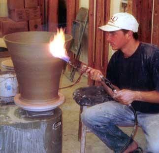 Torching pot