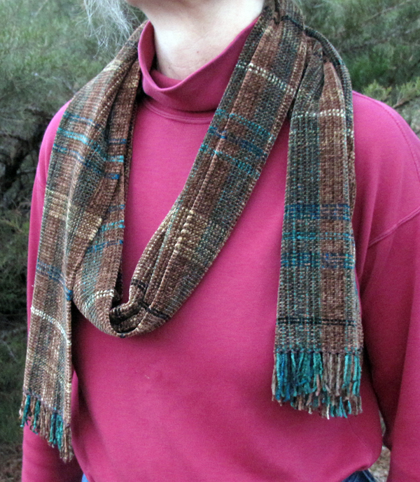 Rayon Chenille Scarf