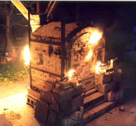 Gas Fired Salt Kiln