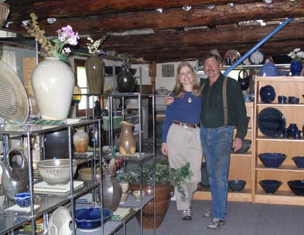 We welcome you to come and visit the gallery, which is full of functional and decorative pottery.
