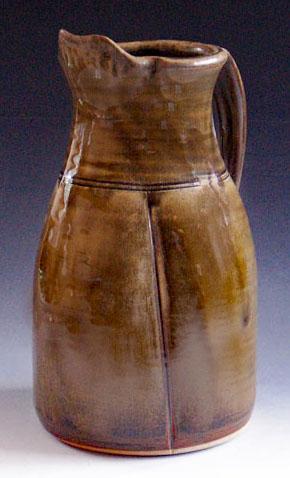 Korean Celadon Glazed Wood Fired Pitcher WF-100