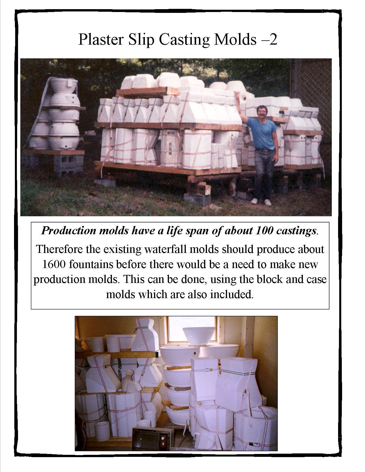Plaster Molds-2