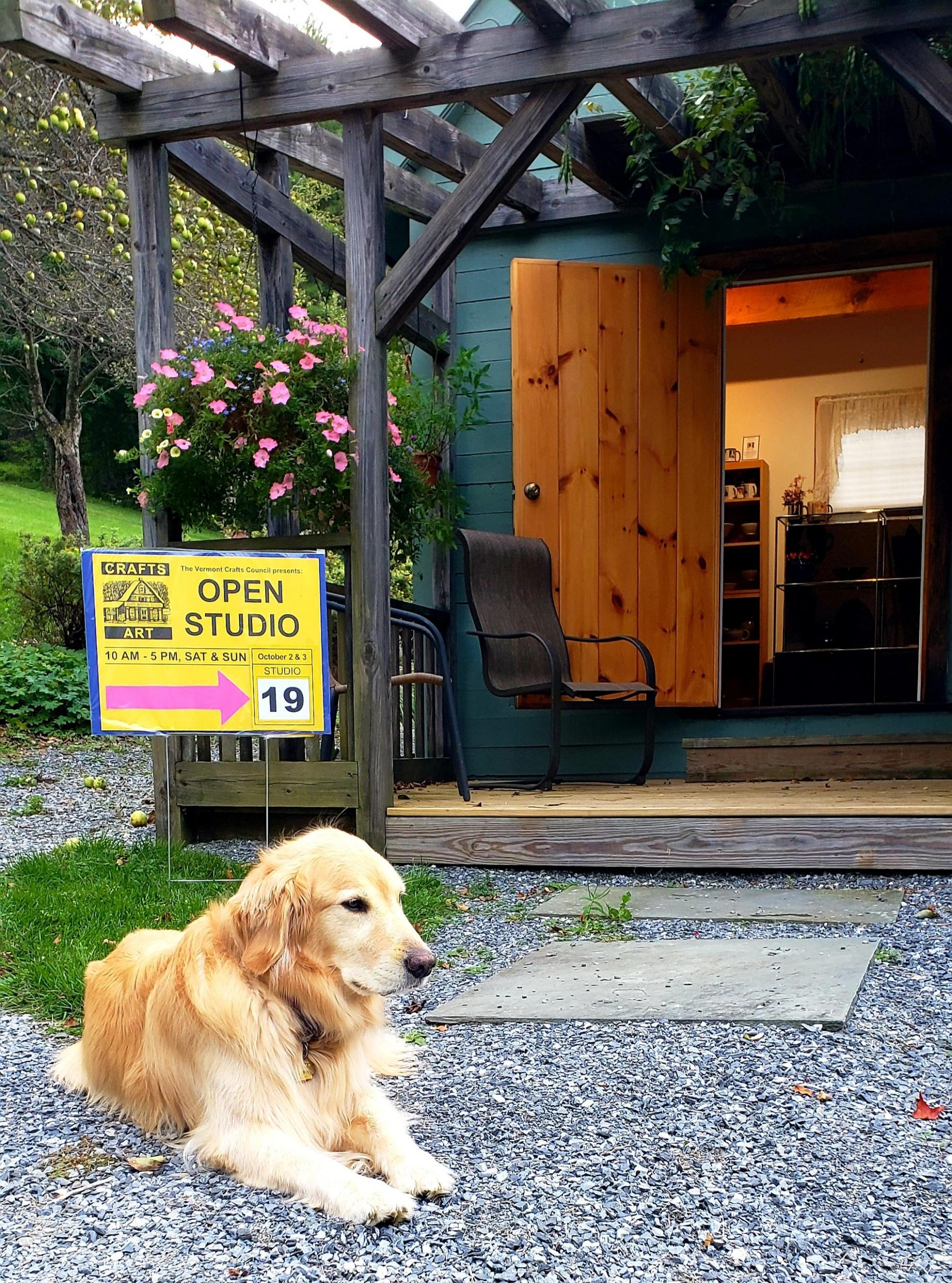 Vermont Open Studio Weekend is October 2nd & 3rd come visit our pottery.